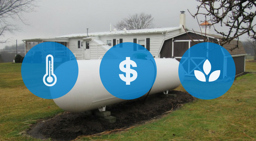 3 Reasons You Should Heat Your Home with Propane Gas Over Other Options