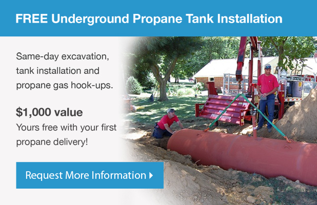 500 Gallon Propane Tank: Aboveground vs  Underground Installation