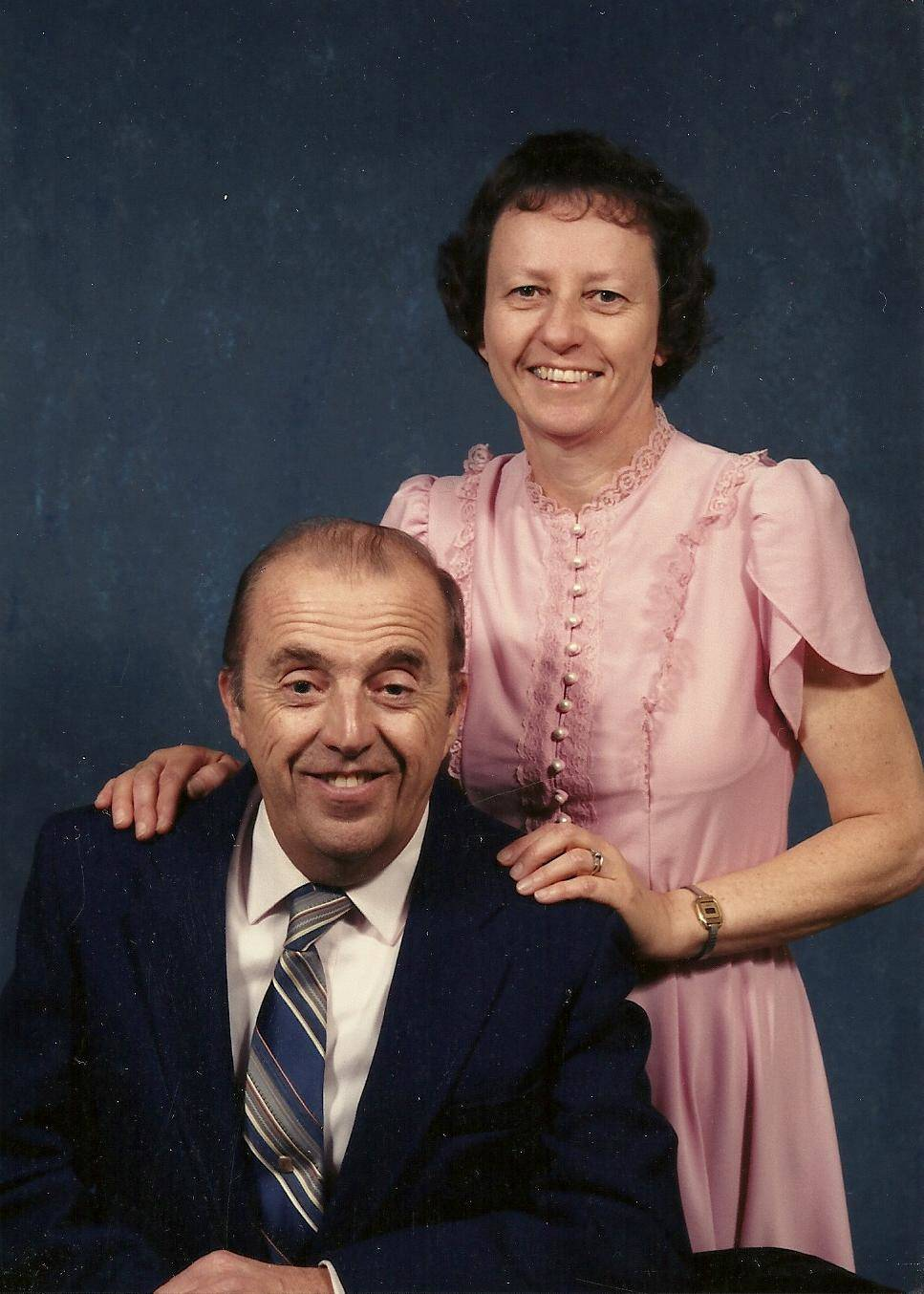 Elwood and Barbara Kauffman of Kauffman Gas Propane Company
