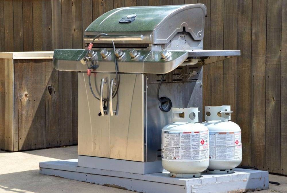 Hook up propane grill to house