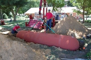 Underground Propane Tank Installation: How It Works