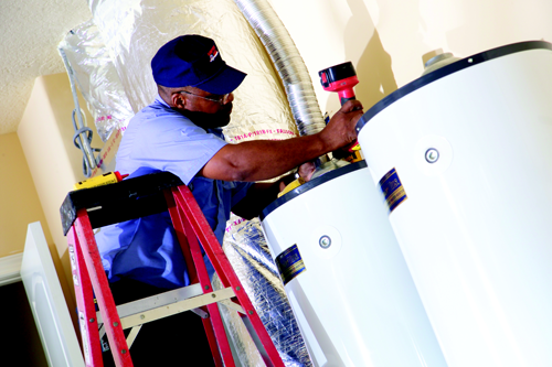 Propane appliance maintenance