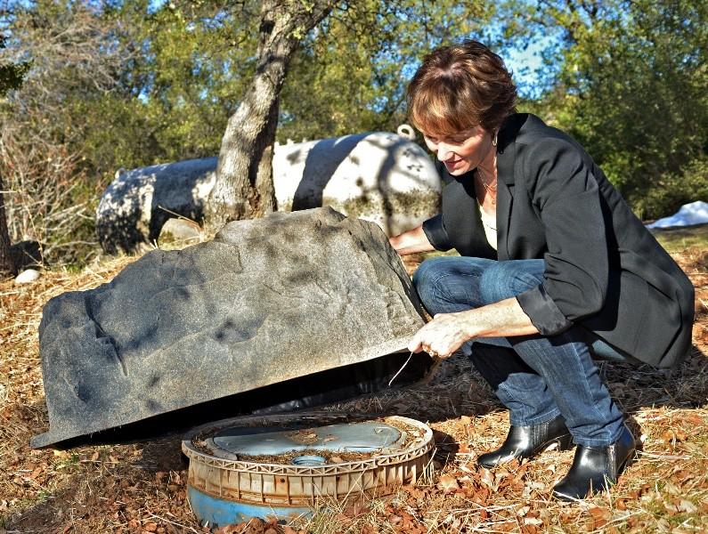 4 Underground Propane Tank Dome Landscaping Ideas
