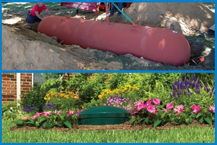 Why Schedule Your Underground Propane Tank Installation in the Spring