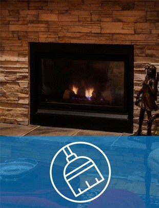 Why You Should Get Your Propane Fireplace Cleaned & Inspected